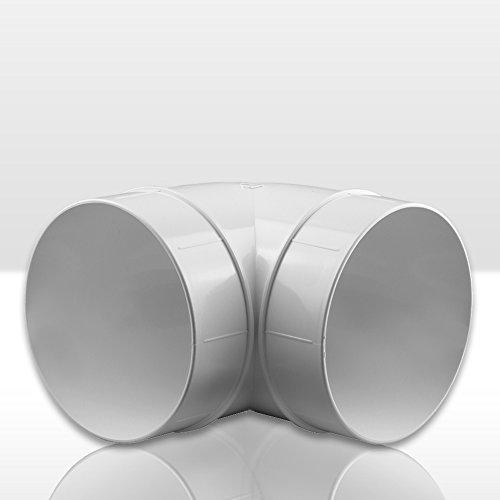 bogen 90 lueftungsrohr abs rundrohr o 150 abluft rohr awenta 150 mm pvc - Bogen 90° Lüftungsrohr ABS Rundrohr Ø 150 Abluft-Rohr Awenta 150 mm , PVC