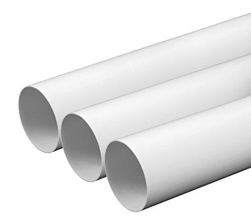 lueftungsrohr o 100 mm laenge 05 m aus abs kunststoff rundrohr rundkanal abluft rohr abluftkanal dunstabzug kanal o 10 cm und 50 cm lang rundrohrsystem ein produkt von mkk - Lüftungsrohr Ø 100 mm Länge 0,5 m aus ABS-Kunststoff Rundrohr Rundkanal Abluft-Rohr Abluftkanal Dunstabzug Kanal Ø 10 cm und 50 cm lang Rundrohrsystem, ein Produkt von MKK