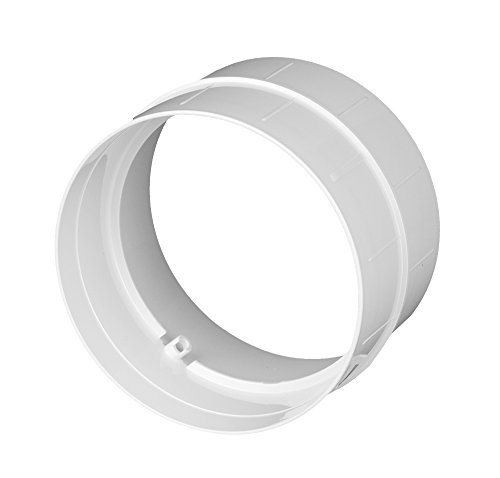 verbinder lueftungsrohr abs rundrohr o 150 abluft rohr awenta 150 mm pvc - Verbinder Lüftungsrohr ABS Rundrohr Ø 150 Abluft-Rohr Awenta 150 mm , PVC
